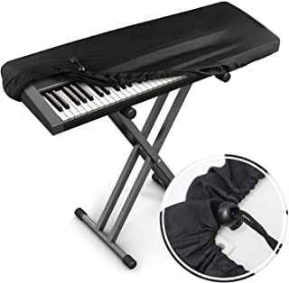 Xcellent Global Piano Keyboard Dust Cover for 61-Key Keyboar