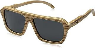 Proof Sunglasses Bud Wood Polarized Rectangular Sunglasses