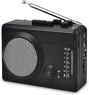 DIGITNOW USB Cassette Player Personal Audio Recorder Built-in Speaker, Radio Recording Cassette Tape to Digital MP3 Converter