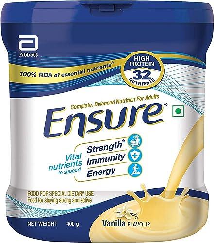Ensure Balanced Adult Nutrition Health Drink 400g Vanilla