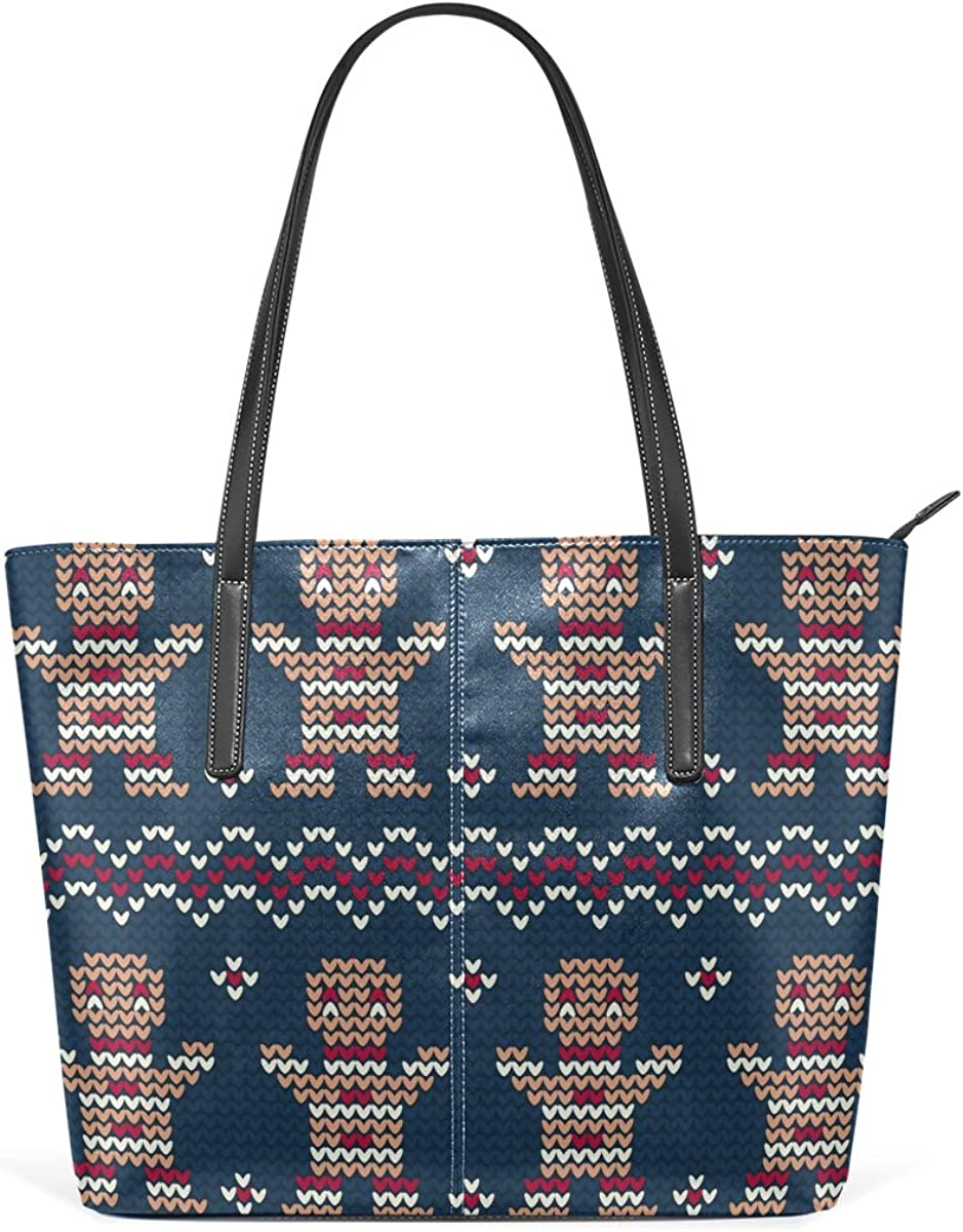 Cookie Knitted Christmas Women's Large Tote security Free Shipping Cheap Bargain Gift Shou Lightweight Bag