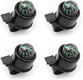 4Pcs Mountain Bicycle Compass Horn Accessories Car Bell Bicycle Bell Mountain Bike Bell Black
