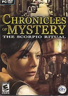 New City Interactive Chronicles Of Mystery The Scorpio Ritual Historical Darkest Secrets Sm Box
