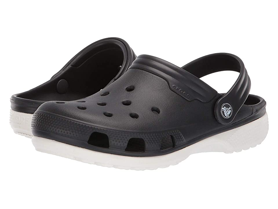 Crocs Duet (Black/White) Clog Shoes