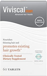 man hair growth 120 tablets 2 month supply