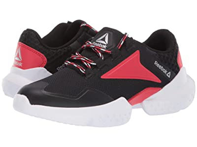 Reebok Kids Split Fuel (Little Kid/Big Kid) (Black/Red/Silver) Boys Shoes