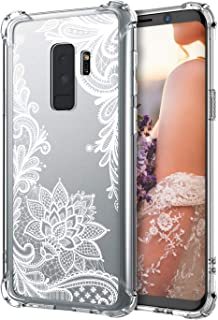 Cutebe Galaxy S9 Plus Case,Shockproof Series Hard PC+ TPU Bumper Protective Case for Samsung Galaxy S9 Plus Crystal