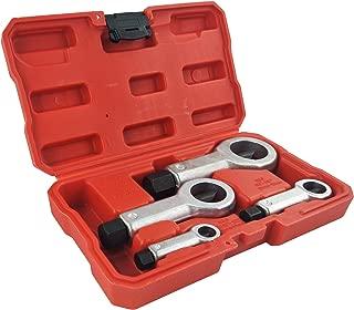 Wisepick 4PCS Nut Splitter Nut Remover Cracker Breaker Extractor Tool Set 5/16