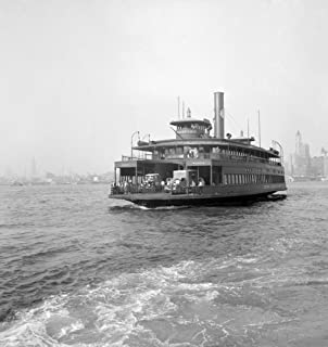 Nyc Ferry 1939 Nthe Ferry Cranford On The East River Between New York City And New Jersey Photograph By Dorothea Lange Jul...