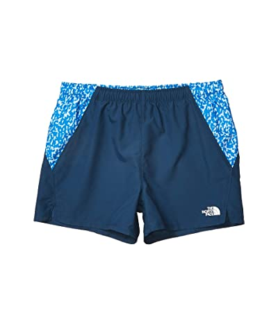 The North Face Kids Class V Water Shorts (Little Kids/Big Kids) (Blue Wing Teal/Clear Lake Blue) Girl