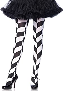 Best black and white chevron tights Reviews