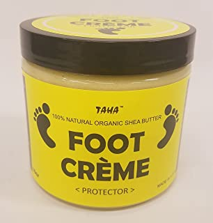 Taha African Shea Butter Foot Creme Protector - 16 oz