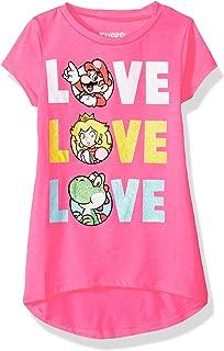 Girls' Mario, Princess Peach, Yoshi Triple Love in Glitter