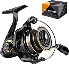 PLUSINNO Spinning Reel, 9+1 BB Fishing Reel, Ultra Smooth...