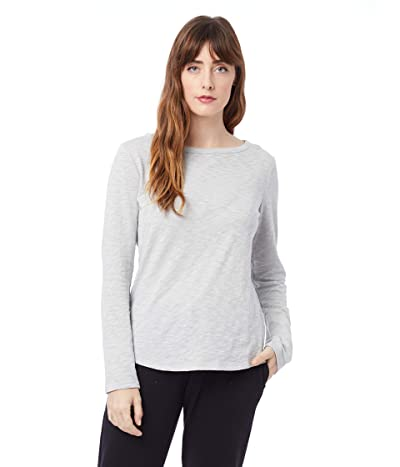 Alternative Marina Organic Cotton Slub Long Sleeve T-Shirt