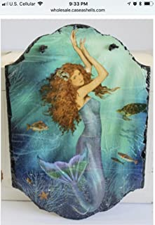 Timeless by Design Magical Mermaid Slate Hanging Wall Art