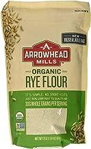 Arrowhead Mills Flour Rye Organic, 20 oz (3 Pack)