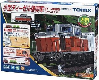 トミーテック TOMIX Nゲージ 小型ディーゼル機関車 Nゲージ 鉄道模型 ファーストセット 90097 鉄道模型入門セット