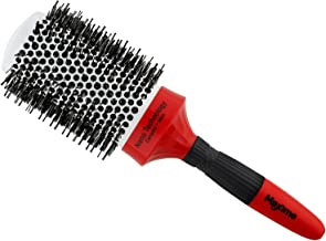 MAXIME Ceramic New Nano Thermal Brush with Ionic Round Barrel and Boar Bristle 2 Inch Barrel, for Hair Drying, Styling, Curling and More that Increases Volume, Shiny and Beauty on Your Hairstyle