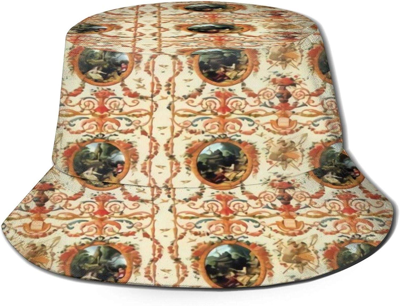 2021new shipping free Marie Antoinette Rococo Lovers Seasons Sun Unisex Hat Bucket Bargain sale