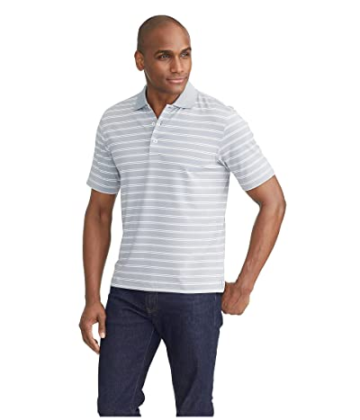 UNTUCKit The Luxe Performance Polo (Mid Grey) Men