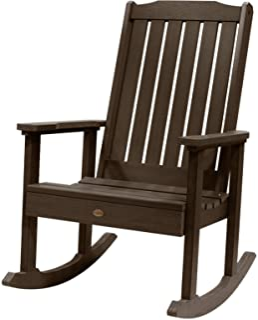 Highwood Lehigh Rocking Chair, Weathered Acorn