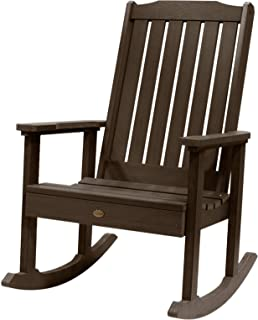 Highwood Lehigh Rocking Chair, Weathered Acorn