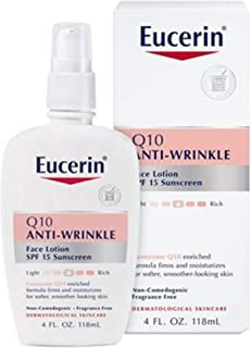 Eucerin 優色林 Q10抗皺敏感乳液 4盎司(118ml)
