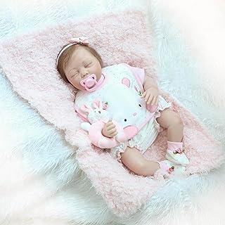 nicery Reborn bebé muñeca suave Simulación Silicona