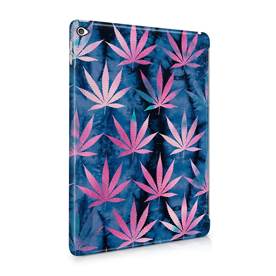 Tie Dye Cannabis Leaves Pattern Hard Plastic Tablet Case For iPad Air 2