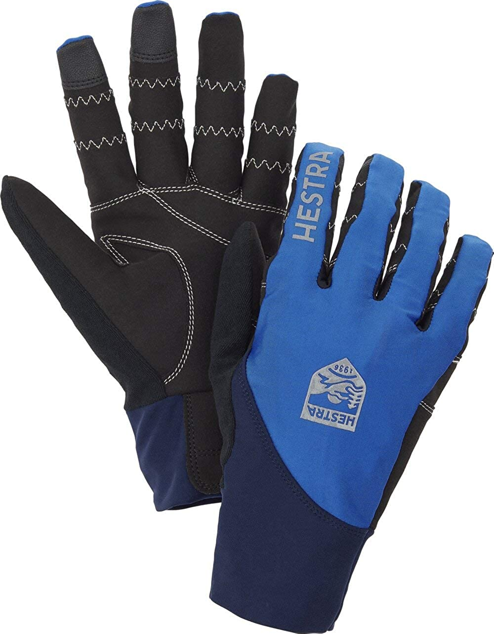 shipfree Hestra Ergo Grip Race Cut Full B Finger OFFicial mail order Protective Non-Insulated