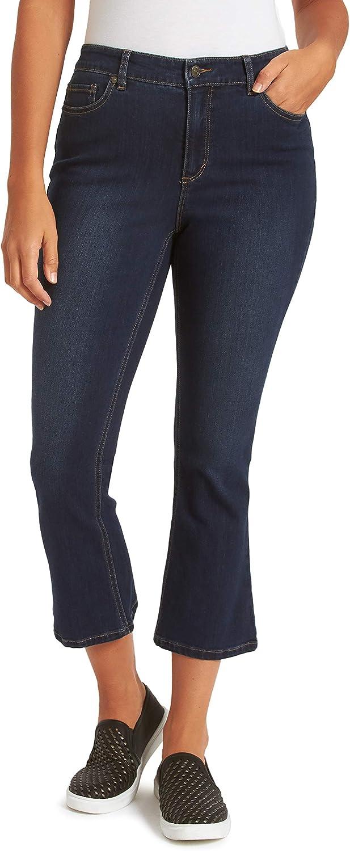 Gloria Vanderbilt Women's Kick Bottom Crop Jean