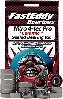 Traxxas Nitro 4-tec Pro Ceramic Rubber Sealed Ball Bearing Kit for RC Cars