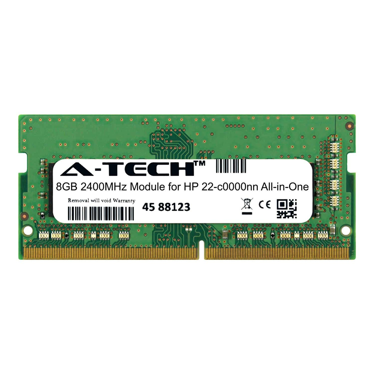 A-Tech 8GB Module for HP 22-c0000nn All-in-One (AIO) Compatible DDR4 2400Mhz Memory Ram (ATMS276602A25827X1)