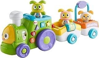 Fisher-Price Tren de Robi y su amigos, juguete para bebé +6 meses (Mattel FXJ00)