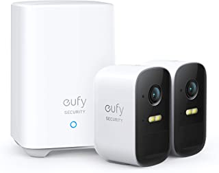 eufy Security, eufyCam 2C 2-Cam Kit, Security Camera Outdoor, Wireless Home Security System with 180-Day Battery Life, Hom...