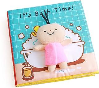 Libros Blandos para Bebé, Libro de Tela Bebé Aprendizaje y