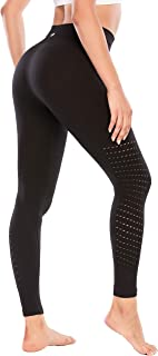 RUNNING GIRL 5 inches High Waist Yoga Leggings, Compression Workout Leggings for Women Yoga Pants Tummy Control