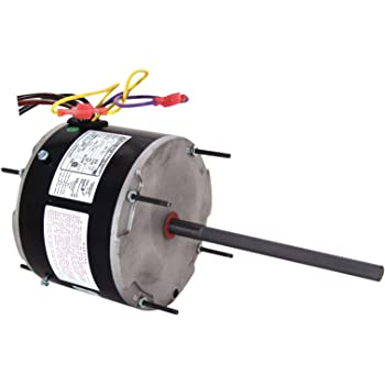 A.O. Smith ORM5458 1/3-1/6 HP, 1075 RPM, 208-230 volts, 2 Amps, 48Y Frame,  Sleeve Bearing Condenser Motor - Electric Fan Motors - Amazon.comAmazon.com