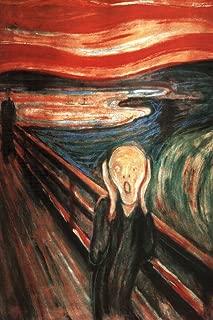The Scream of Nature Edvard Munch Cool Wall Decor Art Print Poster 24x36