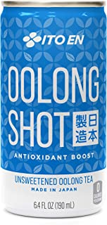 Sponsored Ad - Ito En Oolong Shot 6.4 Ounce (Pack of 30) Unsweetened Zero Calories, Caffeinated