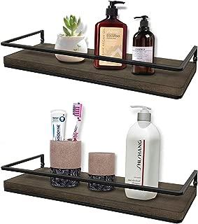 Best espresso bathroom wall shelves Reviews