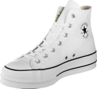Converse Chuck Taylor All Star Lift - Hi - Noir/Blanc/Blanc Canvas