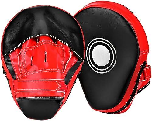 Dojo de boxe arts martiaux dentra/înement pour karat/é Wuudi 1 paire de pattes dours pour entra/înement de boxe entra/înement de boxe sparring MMA Kick de kickboxing Muay Thai