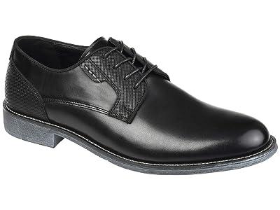 Vance Co. Alston Textured Plain Toe Derby