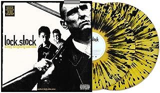 Various Artists - Lock, Stock & Two Smoking Barrels Original Soundtrack Exclusive Vinyl Limited Edition Yellow Splatter on Clear Vinyl 2X LP