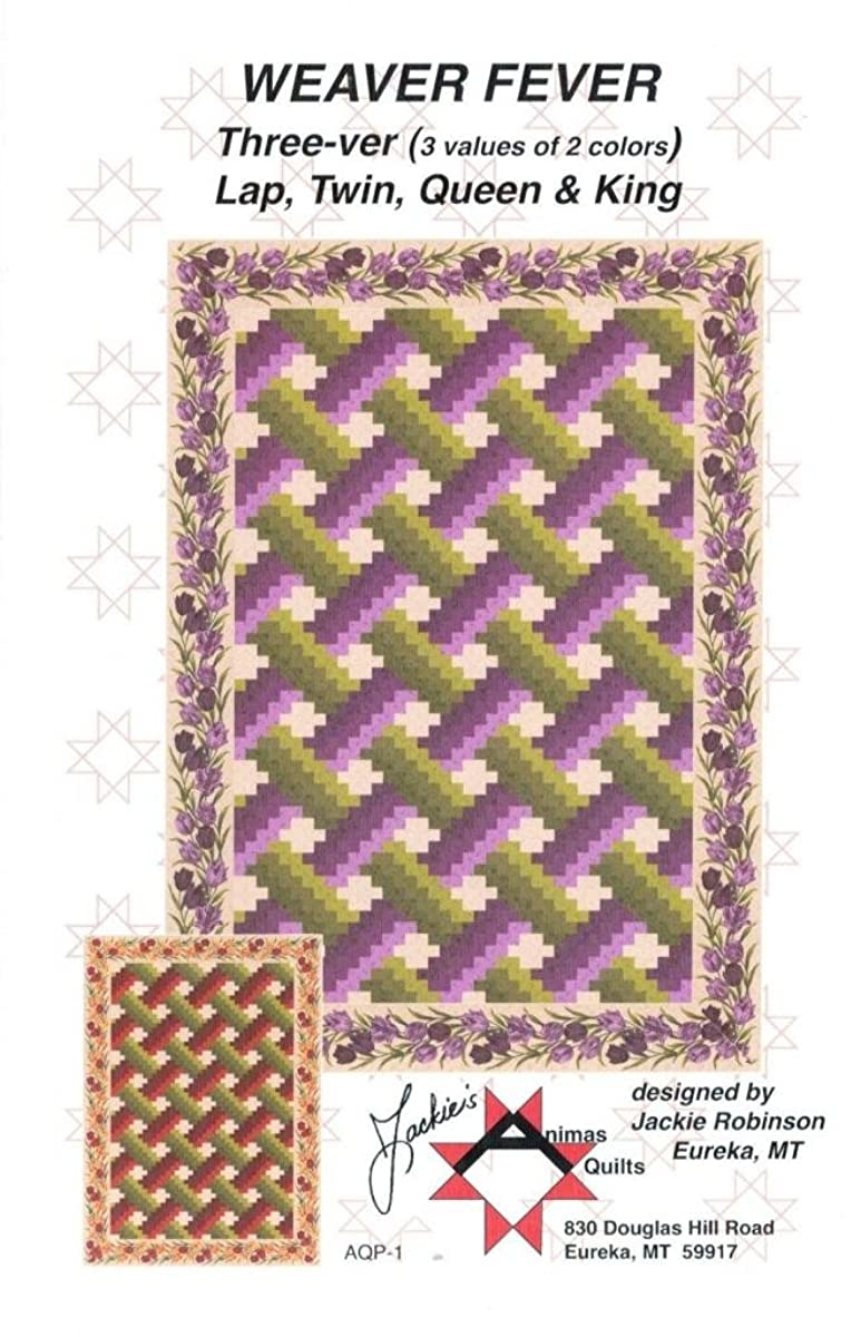 Weaver Fever, by Jackie's Animas Quilts Pieced From Yardage Bargello 4 Sizes