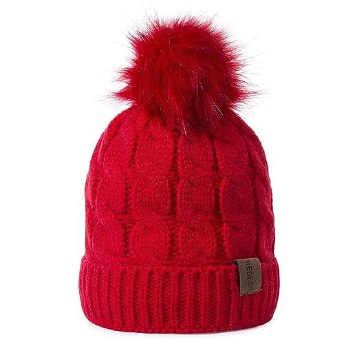 REDESS Kids Winter Warm Fleece Lined Hat f760d14e86be