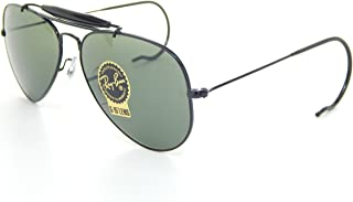 Outdoorsman 3030 Aviator Sunglasses with Wire Wrap Ears