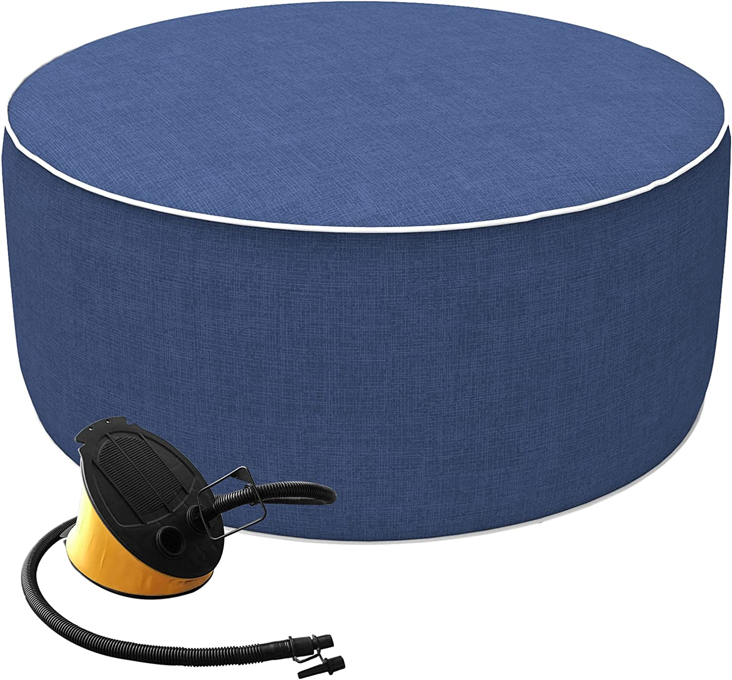 Joyside Outdoor Inflatable Ottoman New product! New type A Portable Round with 4 years warranty